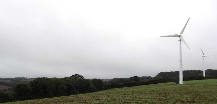 a wind turbine called Geoff