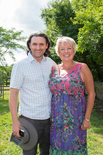Sebastian Parsons with Karen Lumley, Redditch MP Stockwood CBS Launch and Summer Fayre, 2013