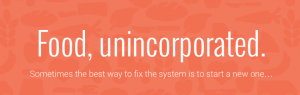 """""""Food, unincorporated"""" banner"""