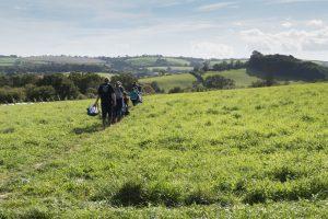 Huxhams Cross Farm farm club, Totnes, Devon (image: Beccy Strong)