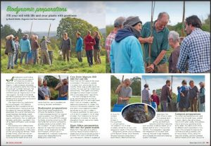 Smallholding Magazine Screen grab of a feature on storrings at Huxhams Cross Farm